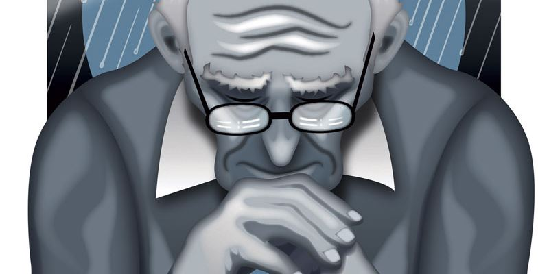 آیا افسردگی در مردان مسن تر شایع است