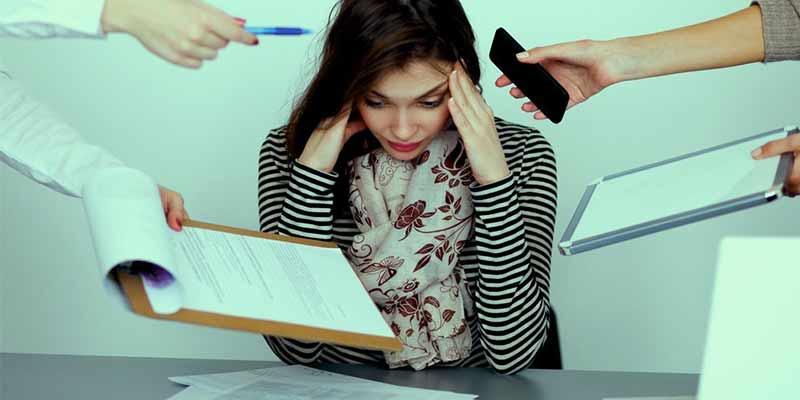 تفکرات منفی-درمان خانگی استرس
