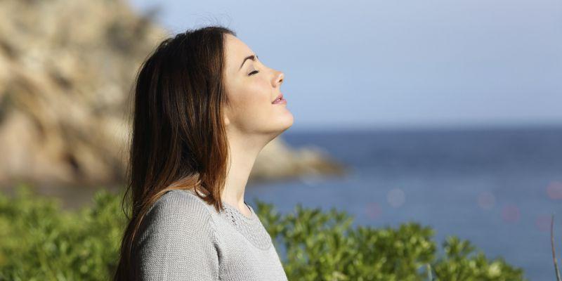 درمان استرس-نفس عمیق