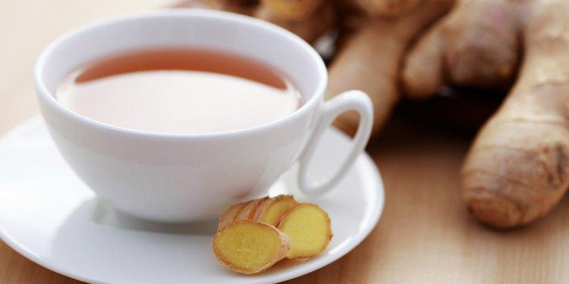 چای زنجبیل با شیر