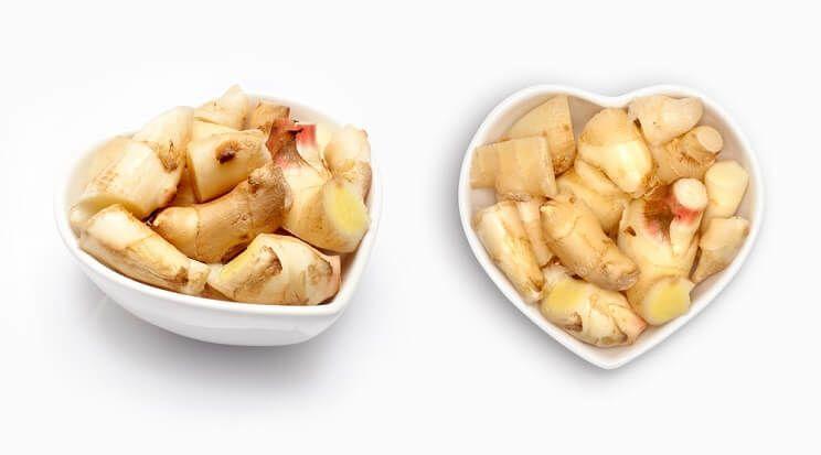 ارزش غذایی زنجبیل