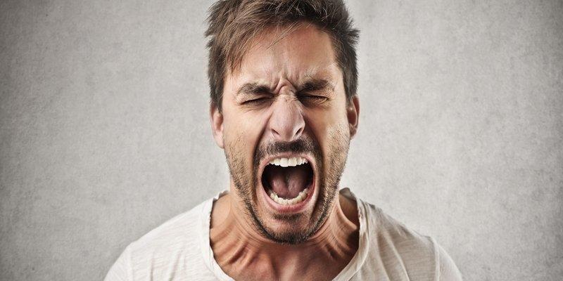 عصبانیت و بدخلقی